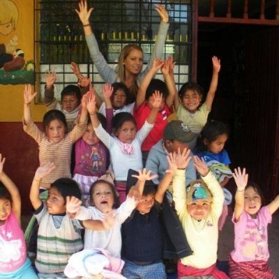 Fanny P au Pérou